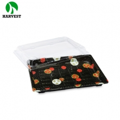 Harvest Disposable Plastic Large Sushi Food Container Tray