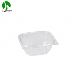 Harvest Disposable PET Sandwiches Salad Plastic Clear Food Container
