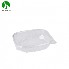 Wholesale bread salad fruit plastic clamshell blister packaging salad bowl
